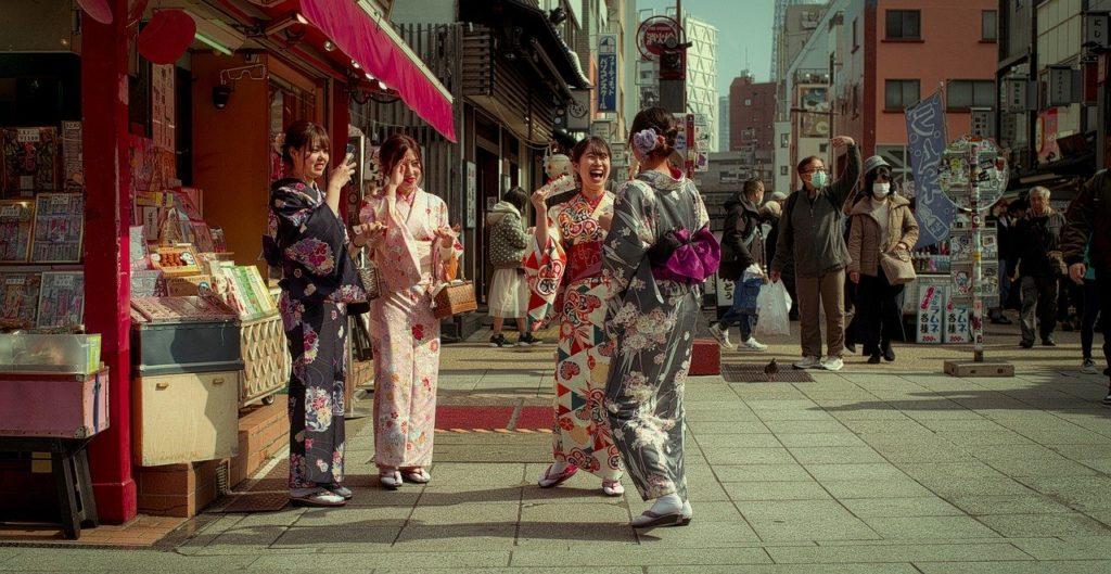Одежда в стиле кимоно
